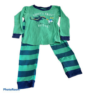 Carter's 4T Pajama Set Mommy's Knight